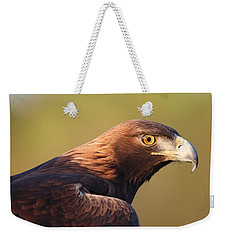 Weekender Tote Bag featuring the photograph Golden Eagle 5151806 by Rick Veldman