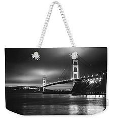 Golden Gate Bridge B/w Weekender Tote Bag
