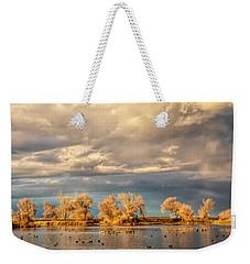 Golden Hour In The Refuge Weekender Tote Bag
