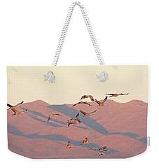 Golden Hour Light Weekender Tote Bag