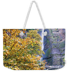 Weekender Tote Bag featuring the photograph Golden Memories by Rospotte Photography