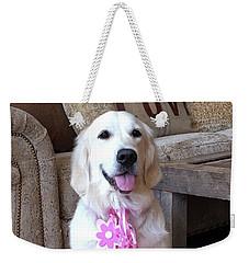 Golden Retreiver Weekender Tote Bag