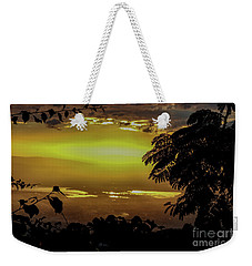 Golden Sunset On Strawberry Hill Weekender Tote Bag
