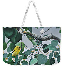 Goldfinch And Aspen Weekender Tote Bag
