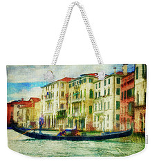Gondola Ride Weekender Tote Bag