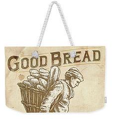 Good Bread Weekender Tote Bag