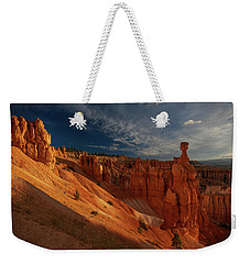 Weekender Tote Bag featuring the photograph Good Morning Bryce by Edgars Erglis