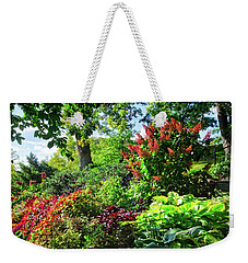 Weekender Tote Bag featuring the photograph Gorgeous Gardens At Cornell University - Ithaca, New York by Lynn Bauer