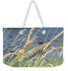 Grasses Ducks And Water Weekender Tote Bag