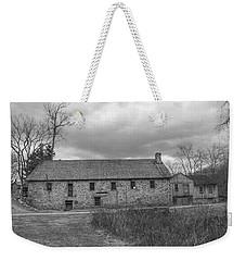 Grey Skies Over Fieldstone - Waterloo Village Weekender Tote Bag