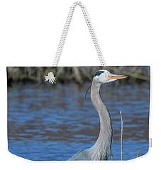 Great Blue Heron Dmsb0150 Weekender Tote Bag