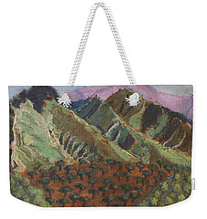Green Canigou Weekender Tote Bag