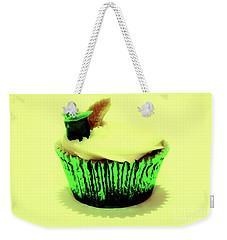 Green Cupcake Weekender Tote Bag