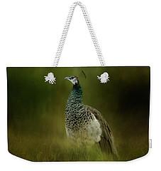 Green Gem In The Meadow  Weekender Tote Bag