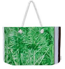 Green Jungle Weekender Tote Bag