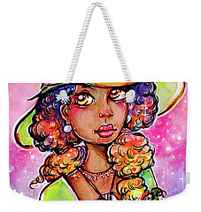 Green Witch Weekender Tote Bag