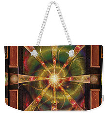 Green Woman Awakens Weekender Tote Bag