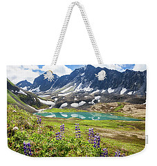 Grizzly Bear Lake Weekender Tote Bag