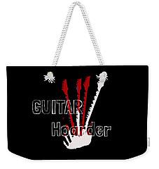 Guitar Hoarder Weekender Tote Bag