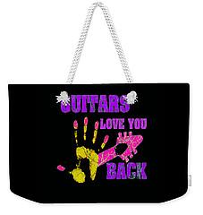 Guitars Love You Back Weekender Tote Bag