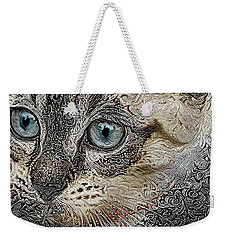 Gypsy The Siamese Kitten Weekender Tote Bag