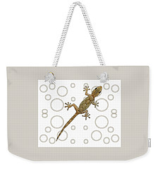 H Is For House Gecko Weekender Tote Bag