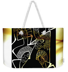 Hair Sisters Stage Set Weekender Tote Bag