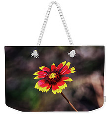 Weekender Tote Bag featuring the photograph Hand Painted by Rick Furmanek