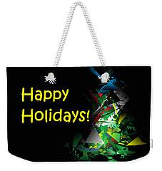 Happy Holidays - 2018-1 Weekender Tote Bag