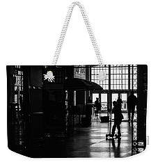 Weekender Tote Bag featuring the photograph Happy Kid by Steve Stanger