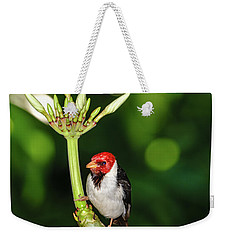 Happy Valentine's Day Bird Weekender Tote Bag