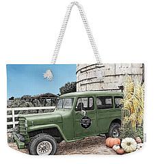 Harvest At Magnolia Weekender Tote Bag