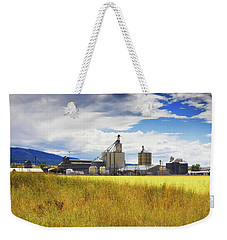 Weekender Tote Bag featuring the photograph Harvest Time In Idaho 2 by Tatiana Travelways