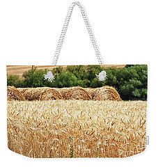 Weekender Tote Bag featuring the photograph Harvest Time In Idaho by Tatiana Travelways