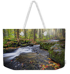 Weekender Tote Bag featuring the photograph Hatch Brook by Bill Wakeley