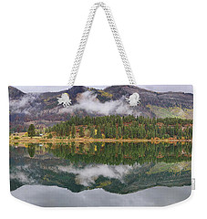 Weekender Tote Bag featuring the photograph Haviland Lake Pano by Theo O'Connor