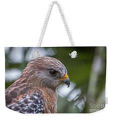 Hawk Portrait Weekender Tote Bag