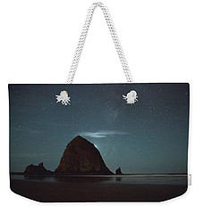 Haystack Under The Stars Weekender Tote Bag