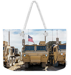 Weekender Tote Bag featuring the photograph Heavy Patriotism by SR Green