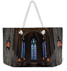 Weekender Tote Bag featuring the photograph Heinz Memorial Chapel by Guy Whiteley