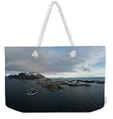 Henningsvaer Lofoten Weekender Tote Bag