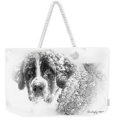 Weekender Tote Bag featuring the photograph Hero by Chris Armytage