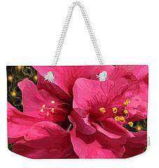 Hibiscus Pollen Weekender Tote Bag