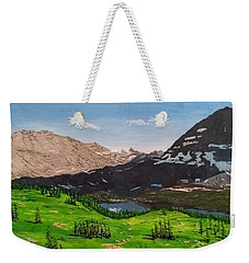 Hidden Lake Pass Weekender Tote Bag