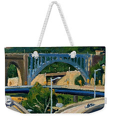 High Bridge Nyc Summer Morning Weekender Tote Bag