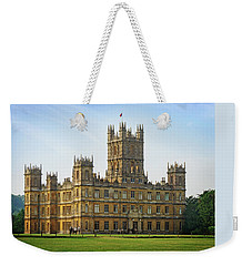 Weekender Tote Bag featuring the photograph Highclere Castle by Joe Winkler