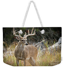 Hill Country Whitetail Weekender Tote Bag