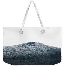 Hoarfrost On The Mountain Weekender Tote Bag