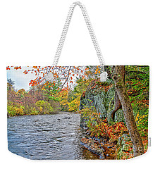 Hogback Dam Pool Weekender Tote Bag