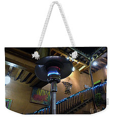 Weekender Tote Bag featuring the photograph Holiday Dining In Patzcuaro by Rosanne Licciardi
